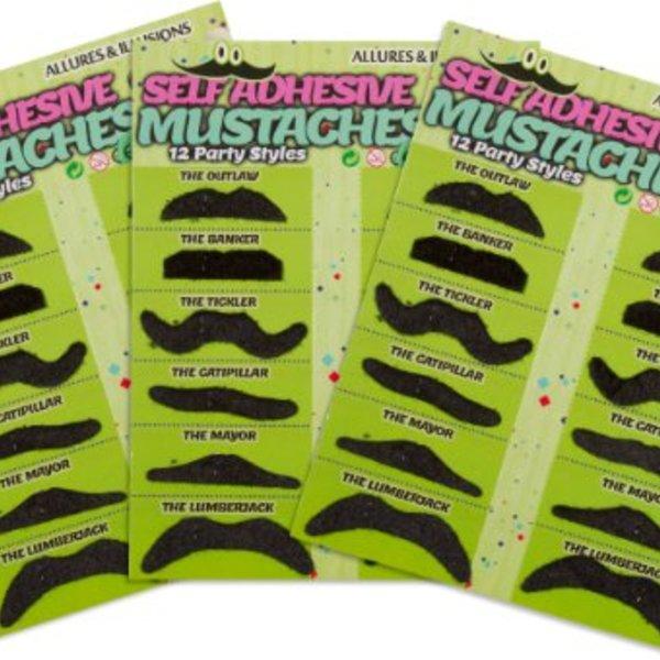 Various Fake Moustaches