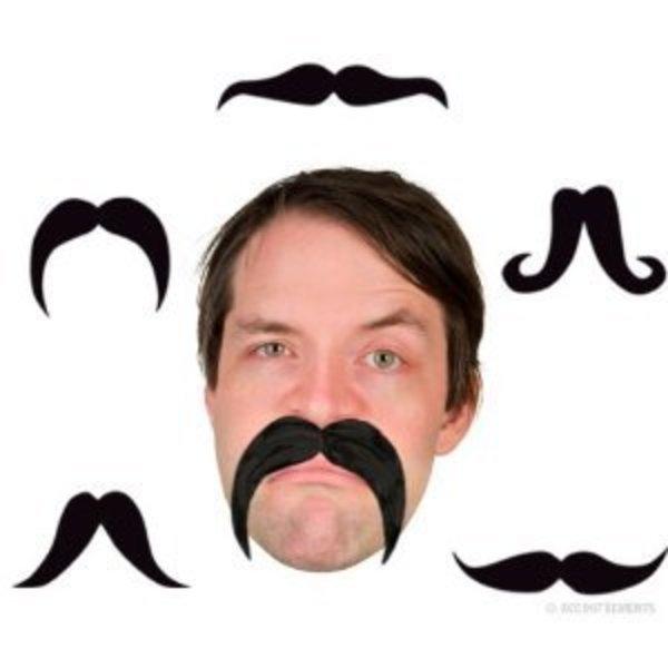 Bendable Fake Moustache