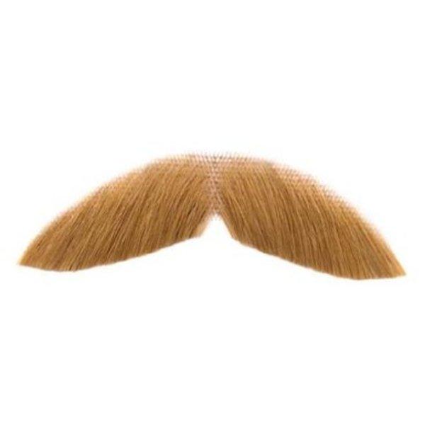 Fake Blonde Moustache