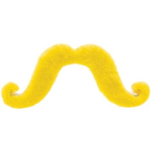 Fake Yellow Moustache