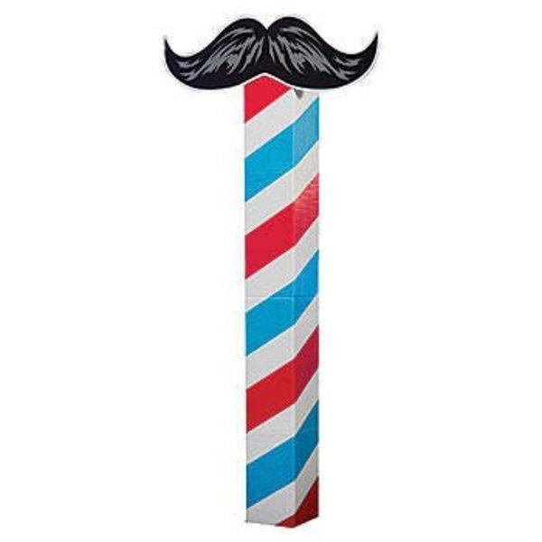 Moustache Column