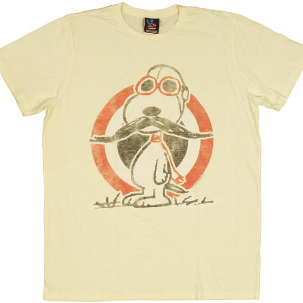 Snoopy Moustache T-Shirt