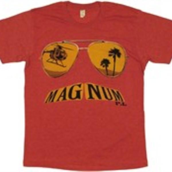 Magnum PI Moustache T-Shirt