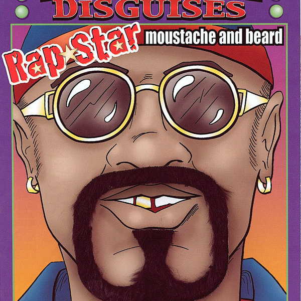 Fake Rap Star Moustache