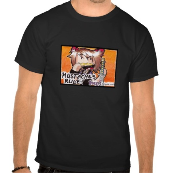 Moustache Ninja T-Shirt