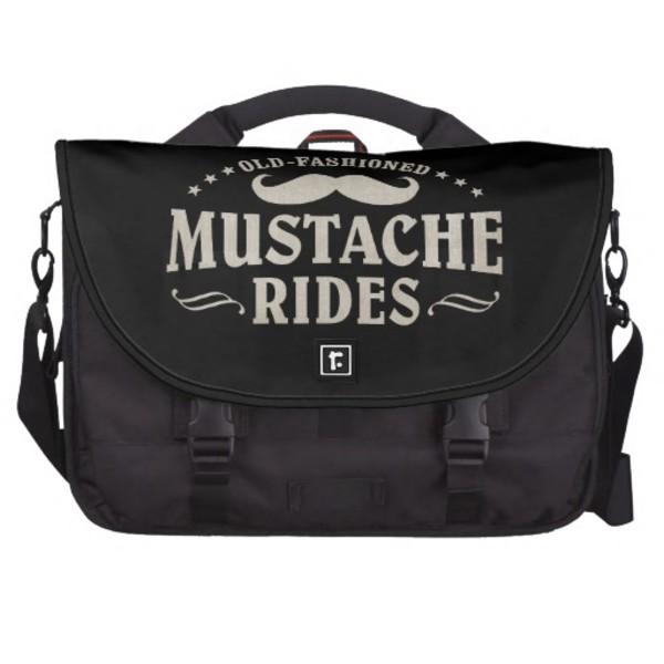 Moustache Rides Bag