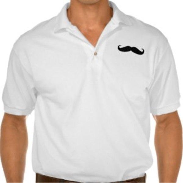 Polo Moustache Shirt