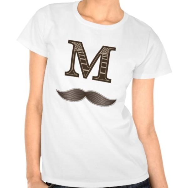 M Moustache T-Shirt