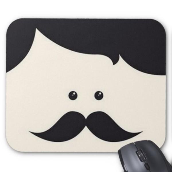 Mr Moustache Mousepad