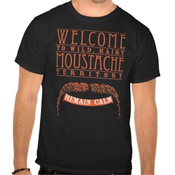 Moustache Territory T-Shirt