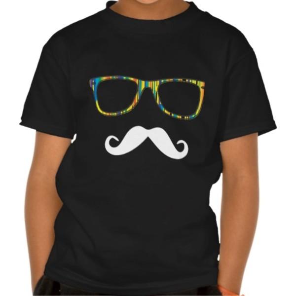 Hipster Moustache T-Shirt