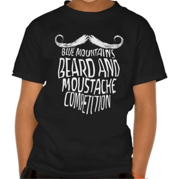 Blue Mountains Moustache T-Shirt