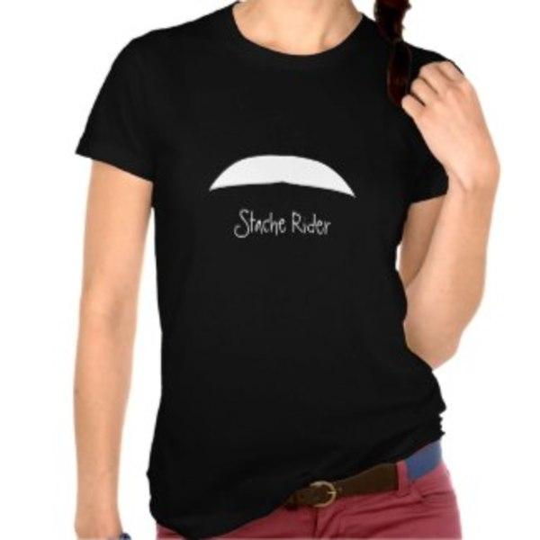 Stache Rider T-Shirt