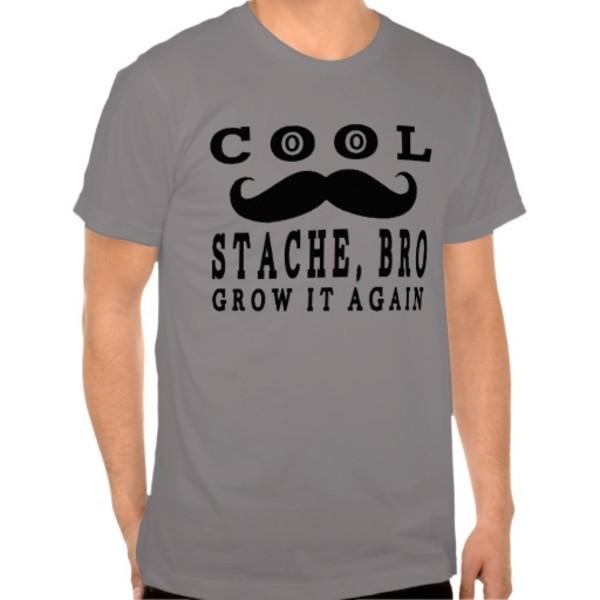 Cool Moustache Bro T-Shirt