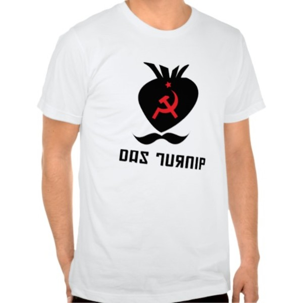 Das Turnip Moustache T-Shirt