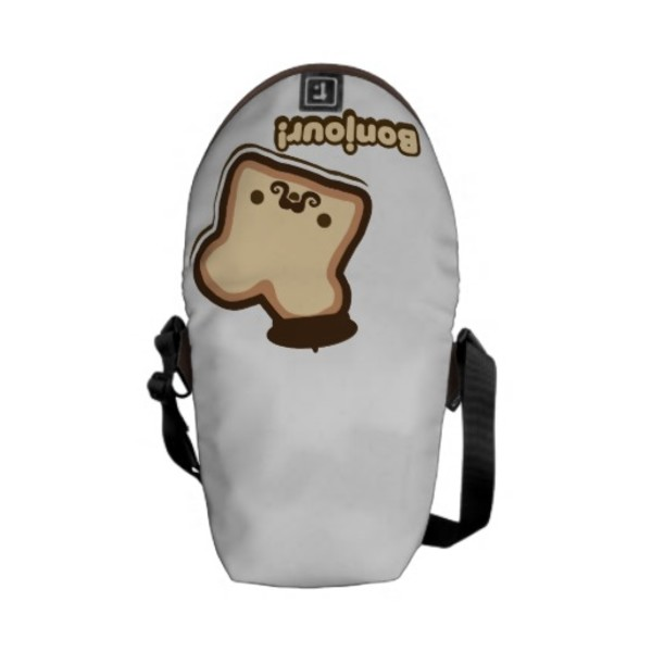 French Toast Moustache Bag