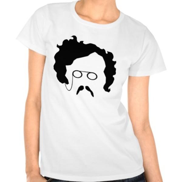 GK Chesterton Moustache T-Shirt