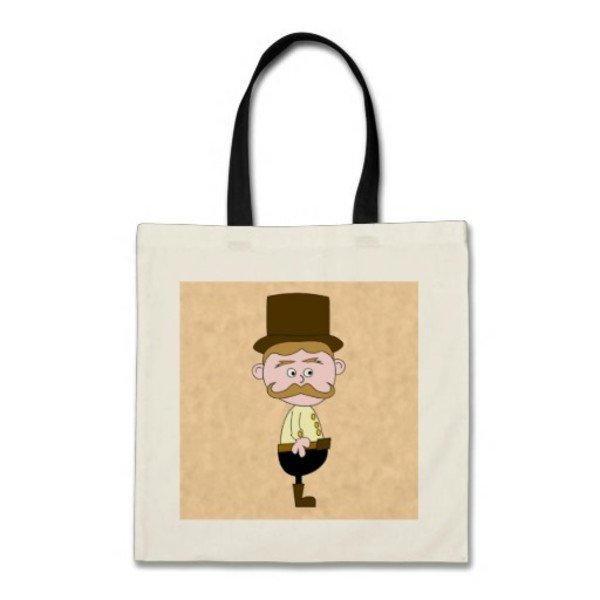 Gentleman Moustache Bag