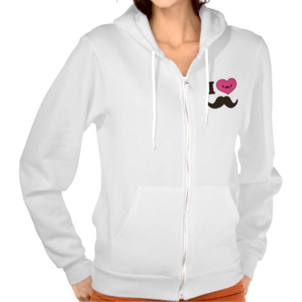 I Heart Moustaches T-Shirt