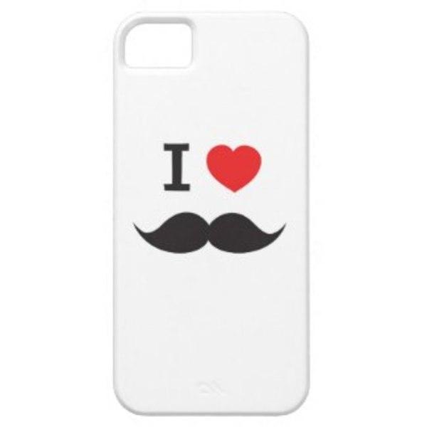 moustache iphone case