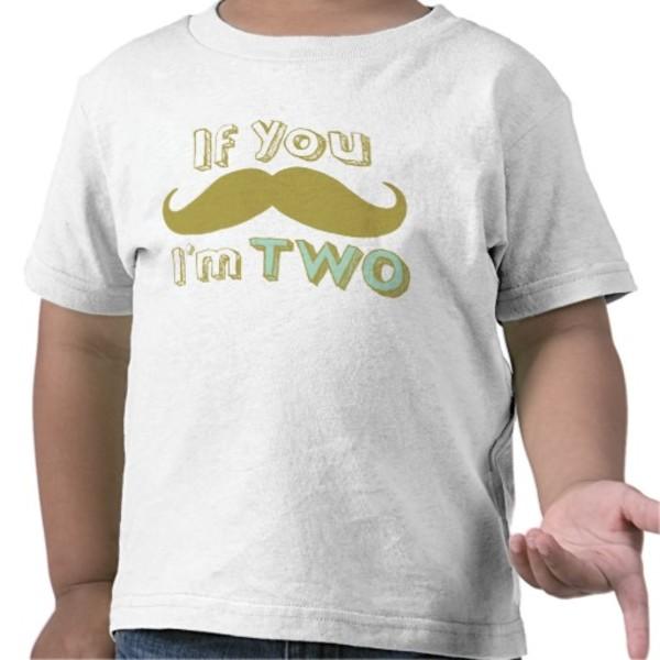 If You Moustache T-Shirt