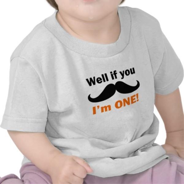 Baby Moustache T-Shirt