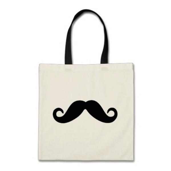 Basic Moustache Bag