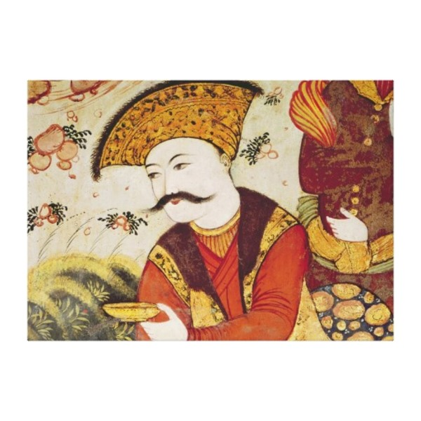 Chinese Moustache Canvas