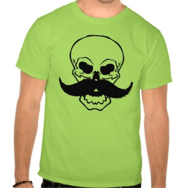 Skull Moustache T-Shirt