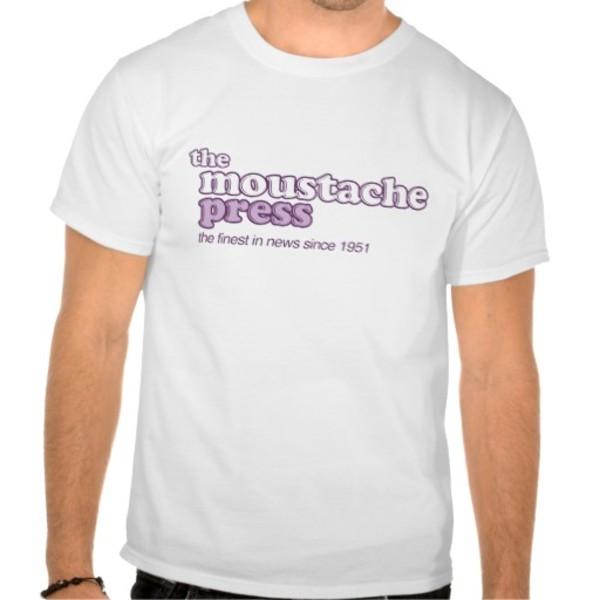 Moustache Press T-Shirt