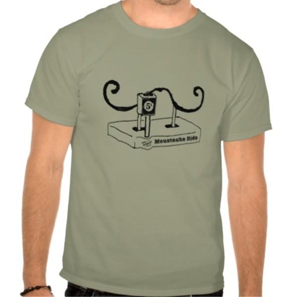 Original Moustache Ride T-Shirt