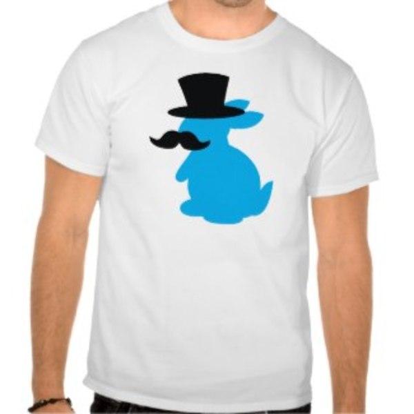 Moustache Rabbit T-Shirt