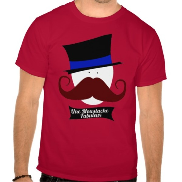 Fabulous Moustache T-Shirt