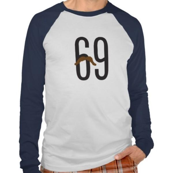 69 Moustache T-Shirt