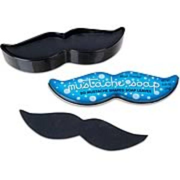 Moustache Soap Leaves