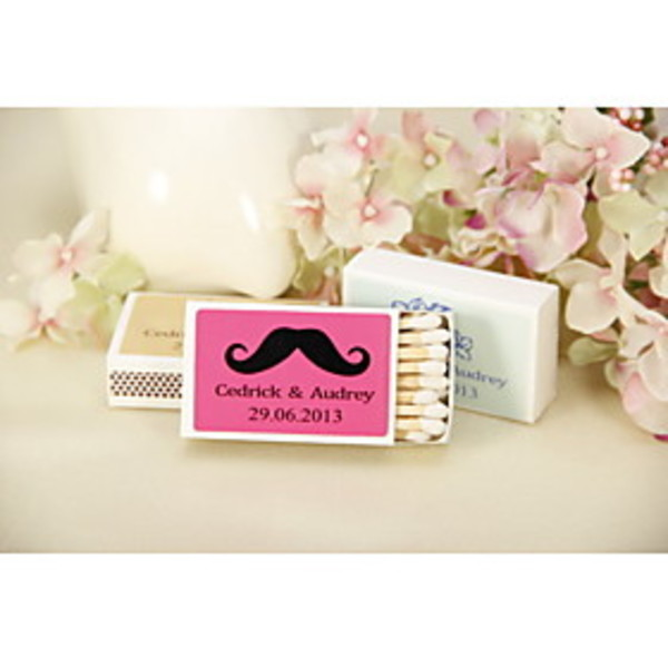 Personalised Moustaches Matches