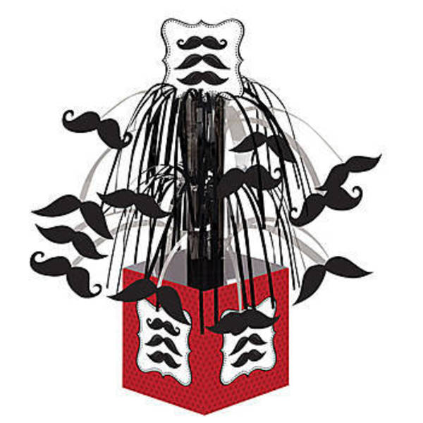 Moustache Centrepiece
