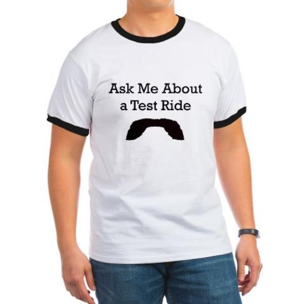 Moustache Rides T-Shirt