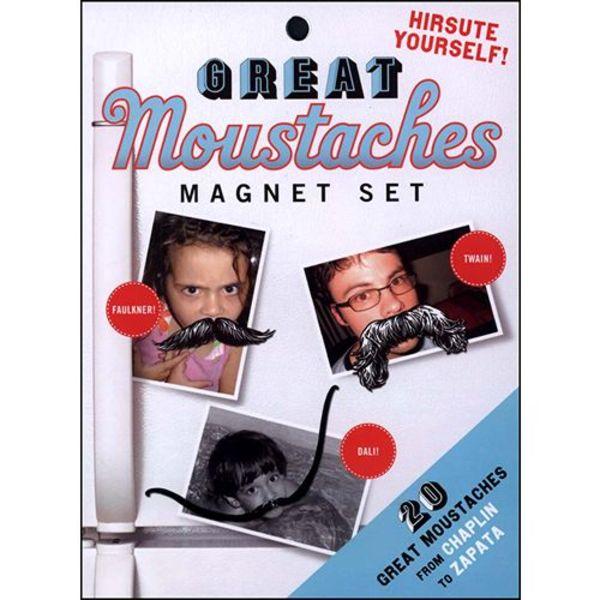 Great Moustaches Magnet Set