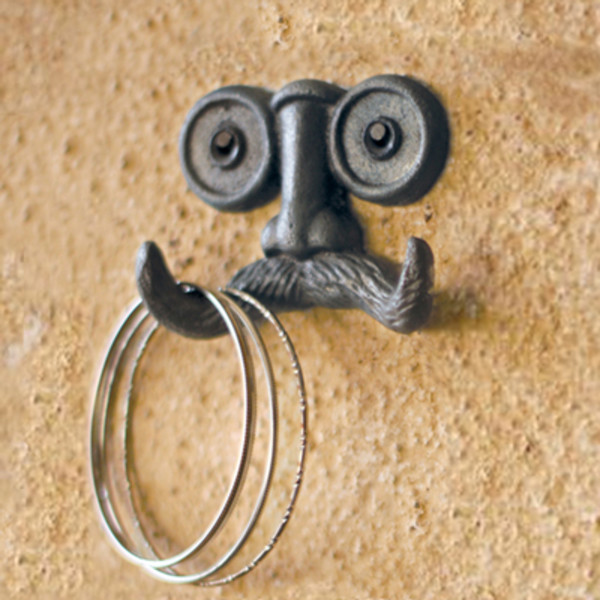 Moustache Wall Hook
