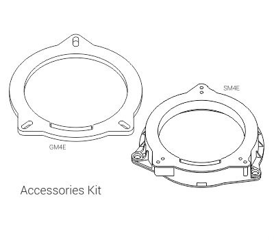 Audison Prima APBMW A4E kit
