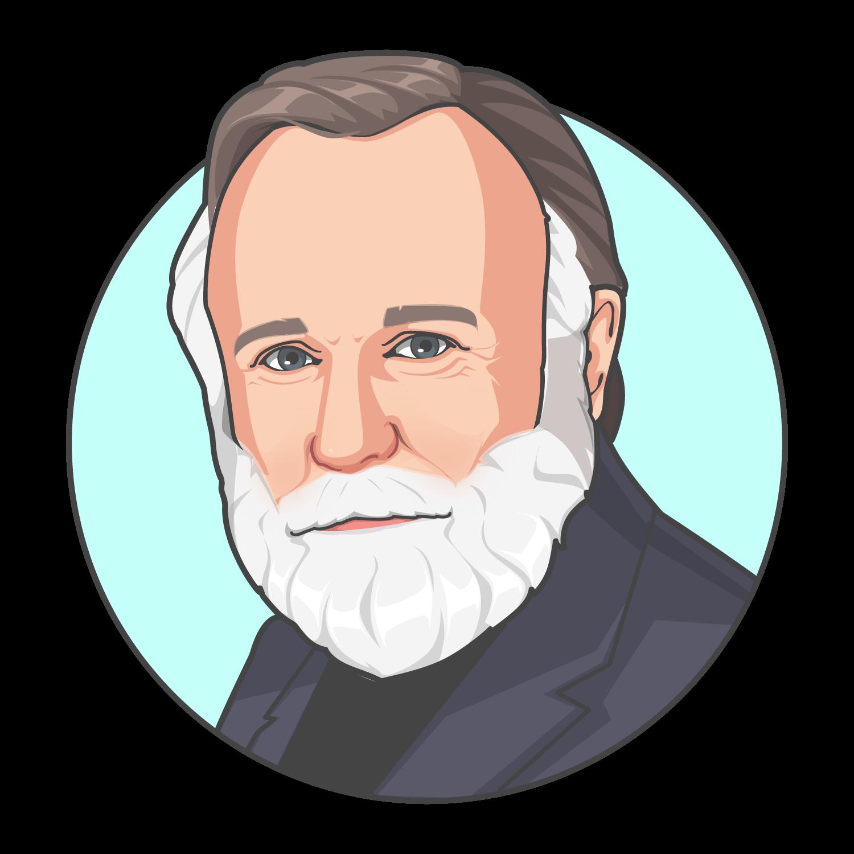 Portrait of Frank Herbert