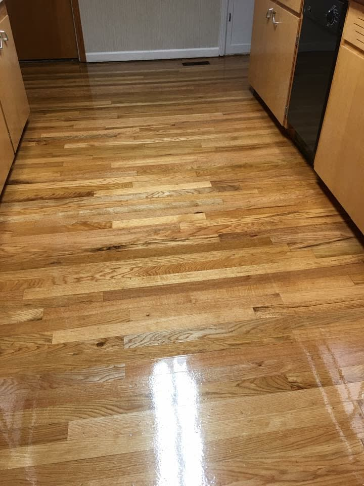 Image showing that same floor with a light natural finish