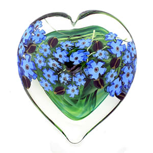 Forget Me Nots Heart