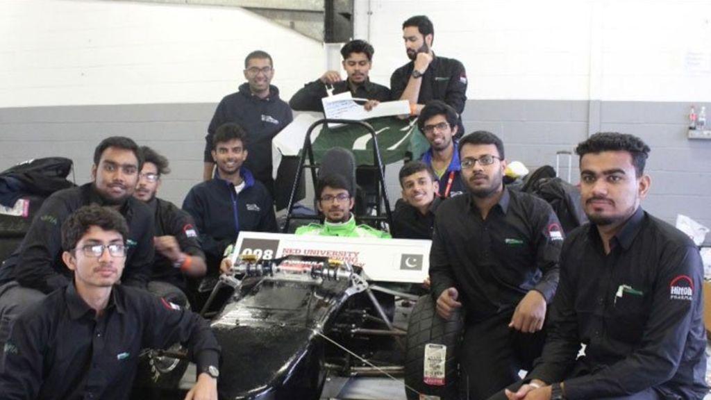 NED students win 'Breakthrough Award' at Formula Student 2017 - Automark