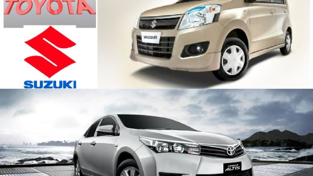 Toyota Indus and Pak Suzuki motors suspended pre-booking of two variants in Pakistan - Automark