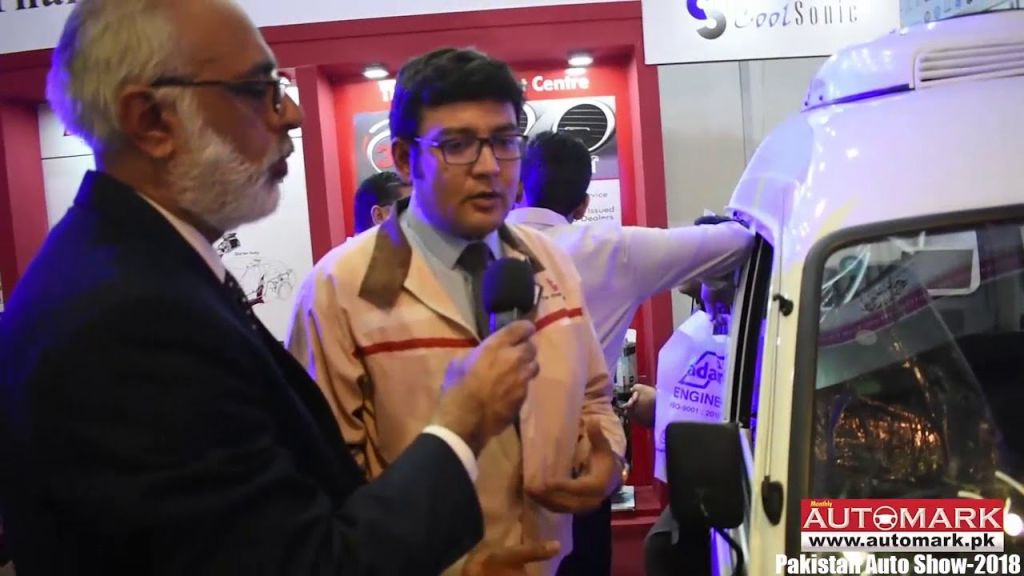 Thal Engineering introduce Roof top dual air conditioner for Suzuki Bolan at Auto Show-2018 - Automark