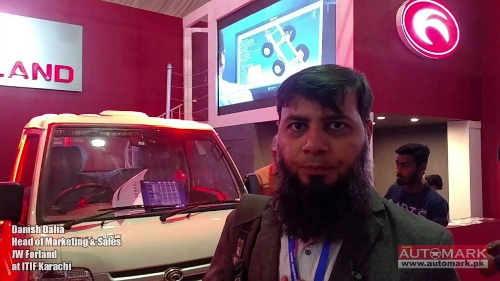 JW Forland at ITIF-2018 Exhibition in Karachi - Automark