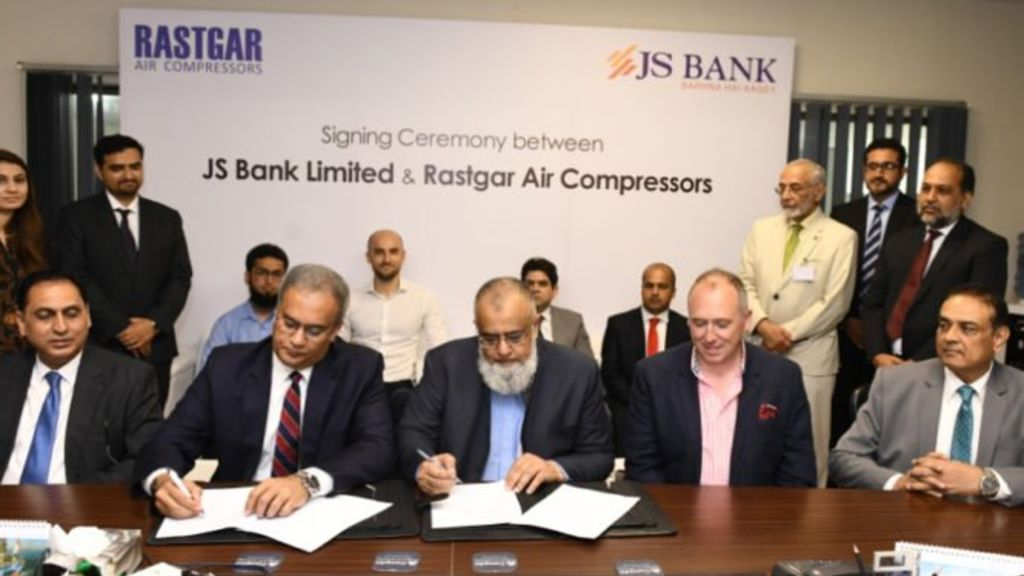 JS Bank Joins Hands With Rastgar & Co - Automark