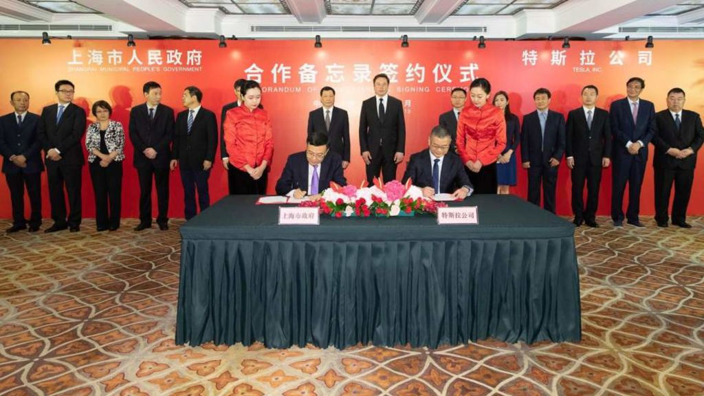 Tesla heads to China to build 500,000-capacity car factory - Automark